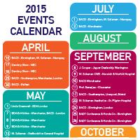 2015 Events Calendar